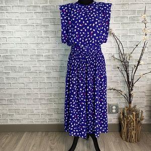 Vintage Pellini by Von Bramlett Fit & Flare Dress